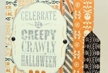 Halloween Ideas-Stamps, Paper, Ink, Create! / Ideas for Halloween Cards and projects collected by Anne Power or made by Anne Power!