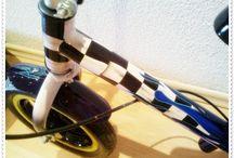 Aerografía bicicletas