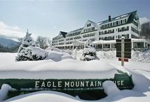 Winter in the White Mountains of NH / There is nothing like winter in NH!  Come enjoy the white Mountains for skiing, riding, snowshoeing, sledding and just to relax! / by Eagle Mountain House & Golf Club