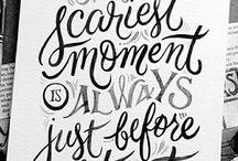Typography design/quotes