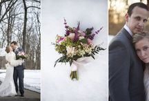 Winter wedding / White wedding ... the magic of snow. Wedding photography, movie clip, wedding dream dresses and wraps inspirations and ideas.