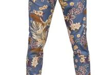 Floral & pattern Pants(플로럴&패턴팬츠)