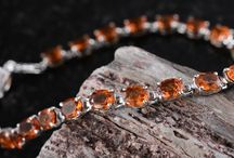 Hessonite Garnet Jewelry / by Liquidation Channel