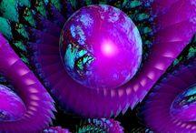 Purpple art