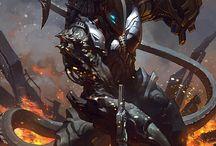 Guardianes del bien y del mal