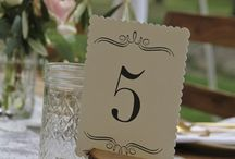 Marca Sitios / Ideas para decorar la mesa de #bodas