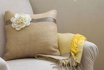 Pillows / by Abigail Bulaski
