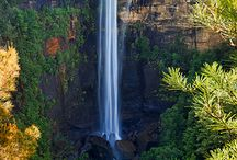 Waterfall wandering