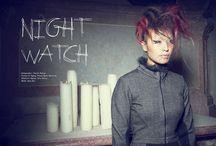 night watch / photographer DIMITRI BURTSEV | www.dimitriburtsev.com fashion & styling PITOUR/MARIA OBERFRANK | www.pitour.com makeup & hair JULIA HRDINA | www.wandelbar.at model ANJA HUA