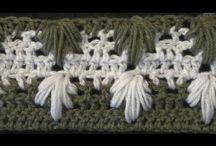 crochet stitches -σχέδια για βελονάκι