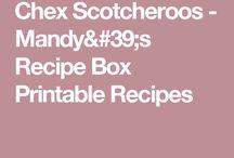 Bake sale recipes