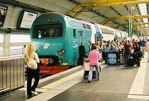 viajar en tren en italia