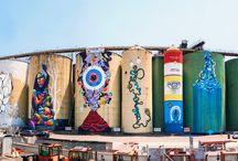 Street Art Silos al Porto di Catania