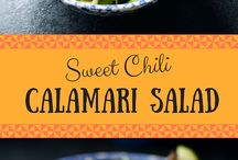 Seafood Recipes / Fresh seafood recipes including tilapia, shrimp, salmon, and more!
