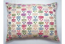 Luxury Designer Cushions / An eclectic choice of beautiful vibrant cushions available to buy from www.notabox.co.uk