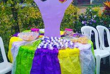 decoración de Rapunzel
