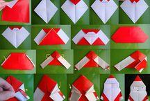 origamie kerst