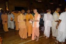 HG Pankajangrahi Prabhu and HG Jananivas Prabhu visited Sri Govind Dham on 25 feb 2013