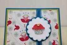 Flowered Cupcake