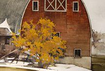 Barns and Farms - Fine Art and Photos