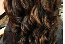 Hair styles and colours