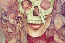 badass skulls / by Andrea Reed