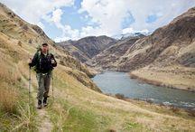Hiking / Hiking, Backpacking, Camping, Trekking, Walking ---- outdoors / by 45N 68W Inc.