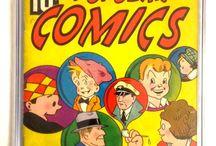 Rare vintage Comic Books