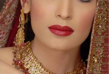 indian wedding hair and make up ideas