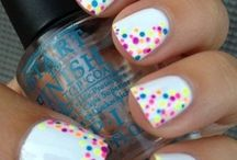 mani's, and pedi's oh my! / by Carrie Frederick Kurtz
