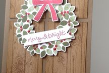 Stampin' Up! Wondrous Wreath