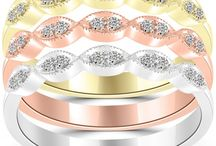 Stackable Fashion Rings / by Liori Diamonds