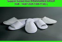 Distributor Sandal Hotel - +62 812-5297-389 (TSEL) / PIRANHAMAS GROUP menyediakan keperluan untuk Hotel Anda berupa Sandal Hotel.Sandal Hotel Terbaik dan Termurah HANYA di PIRANHAMAS GROUP.  Hubungi Costumer Service Representatif :  (Call / SMS / WhatsApp) : +62 812-5297-389 (Tsel) PIRANHAMAS GROUP. Telp Kantor : 0341 - 547.5454 Email : Silvi_eko@yahoo.co.id Alamat : JL. Piranha Atas V / 01, Tunjung Sekar, Malang http://www.piranhamasgroup.com/