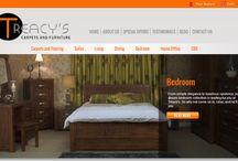 Website Design / Examples of our website design. See our portfolio: http://brandyou.ie/portfolio/