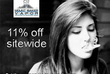 Mt Baker Vapor Coupon Codes / Mtt Baker Vapor, a US manufacturing company specialized in e-Cigarette, started its operation in 2011 by James Thompson & Jesse Webb. It provides highest quality electronic cigarettes at the lowest prices as well as personalized vaporizers including accessories i.e. cartomizers, nicotine juices, cigarette flavorings & e-cigarette starter kits. It is one of the demanding & fast growing brands in USA. Get Mount Baker Vapor Coupon Codes from http://www.couponcutcode.com/stores/mount-baker-vapor/
