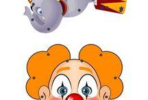 Les clowns et le cirque