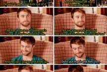 Tom Felton and the other muggles / The harry potter cast deserves a board