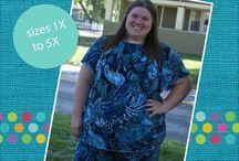 Women's Plus PDF Sewing Patterns