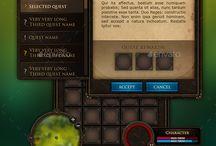 user interface game