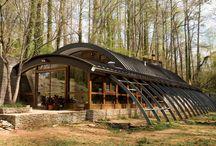 Steel Arch Buildings / Quansit structures / by David Svenson