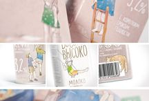 Design / Brand identity: packaging: printable