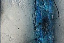 malba struktura akryl