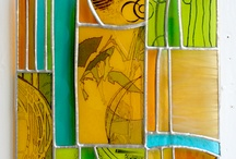 Glass Commissions: Public & Private by Carole Robinson / Glass works made to customers specification...