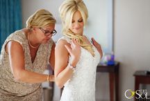 """BRIDE KELSEY / Getting ready to our beautiful bride and her friends and family ... Delight in your moment and look gorgeous on your wedding day, look like yourself, keep the """"you, only better"""" make up airbrush www.sarahgarnier.com wedding photographer @Del Sol Photography"""