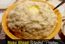 Mashed potatoes / by Betty Struble