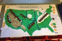 Amerika földrajz