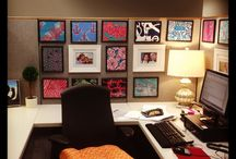 Cubicle Serenity Now / Office decor. Make it your own.