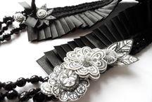 MIMM-textildesign, textile jewellery / Textile jewellery by MIMM-textildesign