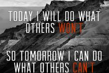 Motivation/ Inspiration