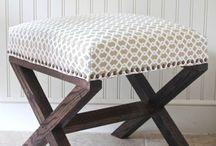 vanity bench/chairs